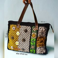 Flory Crochet Tote bag