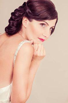 MUA  Marina Villanueva Estilismo  Ernesto Terrón Modelo  Raquel Corrales   wedding  bridal  hairdo  hairdressing cc1f444ea0e