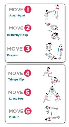 Quick, easy and effective no equipment workout.