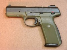 Ruger SR9 Pistol love this finish! Find our speedloader now! http://www.amazon.com/shops/raeind
