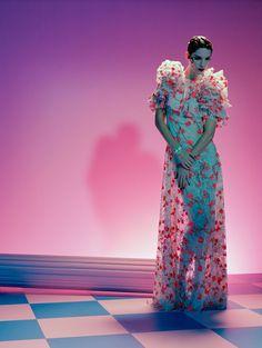 Iris Strubegger by Miles Aldridge for Vogue Italia March 2015