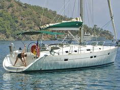 Beneteau 411-- a boat I could live aboard