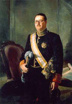 Julio Moisés. Ministro de Hacienda Jose Larraz