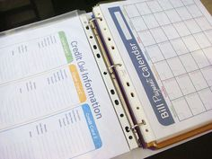 Fresh and Organized: Organize Your Finances With a Financial Binder