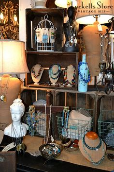 The Old Lucketts Store Blog: A new fun jewelry display