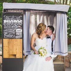 Sweet photo share from one of our couples on yelp!  Love this so much! Mobile Photo Booth - Mobile photo booth -