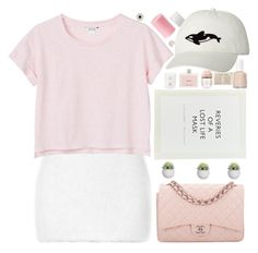 """""""⭐audition for my tip/icon account"""" by tpuselc ❤ liked on Polyvore featuring Rodarte, Monki, Chanel, ...Lost, Prada, STELLA McCARTNEY, Essie, Aiayu, Marc by Marc Jacobs and Orca"""