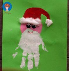 kerstmanhandje verven 2