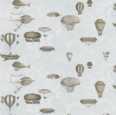 Cole and Son tapet - Macchine Volanti, lyseblå ruller) Wallpaper Pink And Blue, Neutral Wallpaper, Cole And Son Wallpaper, Wood Wallpaper, Quirky Wallpaper, Framed Wallpaper, Baby Wallpaper, Free Wallpaper Backgrounds, Wallpaper Online
