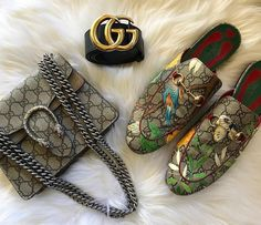Gucci Classic Collection. Gucci Handbags, Shoe, GG belt. #Gucci #Handbags