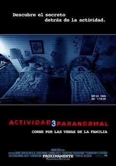 """Ver película Actividad Paranormal 3 online latino 2011 gratis VK completa HD sin cortes descargar audio español latino online. Género: Terror Sinopsis: """"Actividad Paranormal 3 online latino 2011"""". """"Paranormal Activity 3"""". La tercera parte de la película de terror independiente 'Act"""