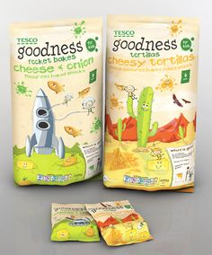 """""""The brand concept behind Goodness was developed by VCG in partnership with the Fresh & Easy team, originating with snackpacks and resulting in the creation of a wide range of products across multiple categories. These include chilled prepared meals, pasta sauces, healthy snacks, cereals and lunchbox fillers."""
