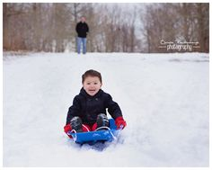 Snow Much Fun - Newport, Rhode Island Family Photographer - Christa Paustenbaugh Photography