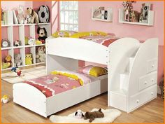 102 Best Bunk Bed Images On Pinterest Corner Twin Beds Bed In