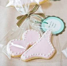 pretty and classy lingerie shower favors Lingerie Shower Cookies, Bridal Lingerie Shower, Beach Bridal Showers, Bridal Shower Party, Bridal Shower Invitations, Lingerie Shower Decorations, Wedding Showers, Baby Showers, Bachelorette Party Games
