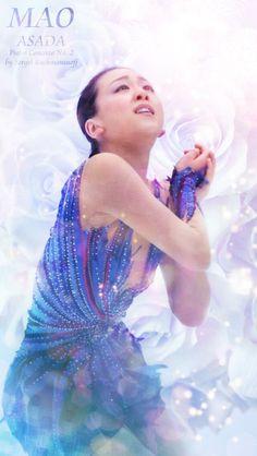 Mao Asada / 浅田真央 : Kinoshita Group Cup Japan Open 2013 FS : #FigureSkater #Japan #FigureSkating #MaoAsada #GoMao #MaoFight Ice Skating, Figure Skating, Skate, Kawaii, Japan, Group, Disney Princess, Disney Characters, Sports