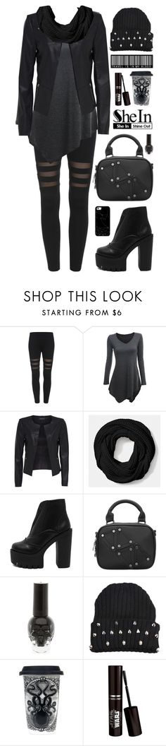 """""""SheIn 9"""" by scarlett-morwenna ❤ liked on Polyvore featuring Coach, Sourpuss, Casetify, modern and vintage"""