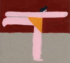 Charlotte Mei's paintings of abstracted, contorted and lazy bods. (See more)