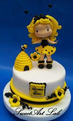 Little Bee Girl Cake | Niña abejita