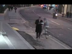 Moment thief grabs the phone out of the man's hands in London