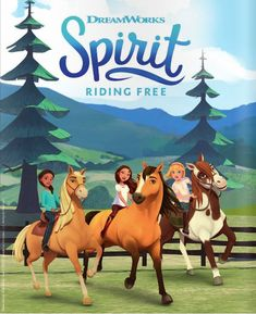 New Series Inspired by Spirit: Stallion of the Cimarron Comes to Netflix - Horse Illustrated Caballo Spirit, Horse Birthday Parties, 4th Birthday, Free Birthday, Birthday Cake, Spirit The Horse, Wild West Party, Free Horses, Horse Posters