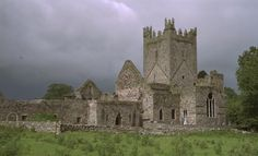 Jerpoint Abbey, Ireland.  One of the most spiritual places I have ever been.  I will definitely go back again one day.