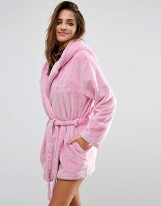 820cb750bf Boux Avenue Princess Cropped Hooded Robe at asos.com