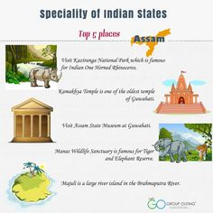 Top 5 #destinations you must visit while in #Assam #TuesdayThoughts #GroupOuting #GoGroupOuting