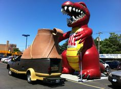 The bootmobile made a new day!