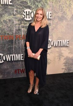 """Sheryl Lee attends the premiere of Showtime's """"Twin Peaks"""" at The Theatre at Ace Hotel on May 19, 2017 in Los Angeles, California."""