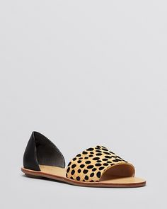 Loeffler Randall Flat Sandals - Sawyer