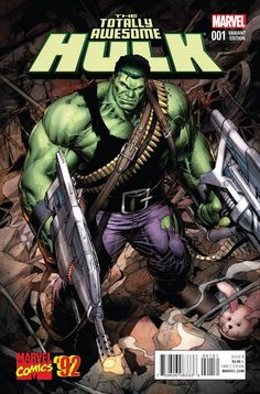 Totally Awesome Hulk #1 1:20 Variant