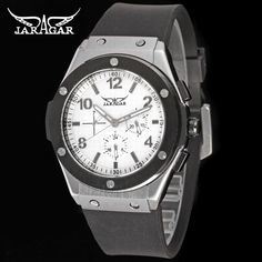 2016Jargar watch Alibaba China Supplier Fashion Rubber Original branded Watches Men-Forsining Watch Company Limited www.forsining.com