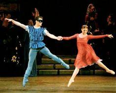 Seth Orza and Kathryn Morgan NYC Ballet, Romeo and Juliet