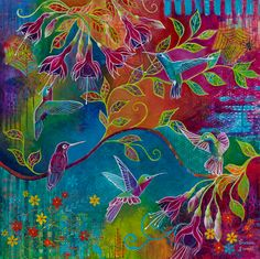 Susan Farrell - Intuitive Art courses and workshops – I Still Believe in Magic