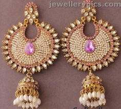 Pearl buttalu | jhumka |khaleera latest designs ~ Gold Jewellery Designs
