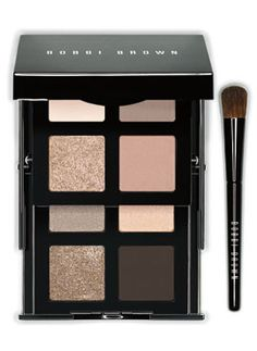 Must-have nude eye palette.  For every woman who wants to create a classic, nude eye with the option of building depth and shimmer for a range of gorgeous nude eye looks.