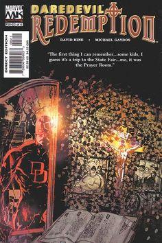Daredevil: Redemption # 3 by Bill Sienkiewicz