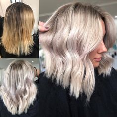 Total Hair Goals 💥 amazing job Erika Houston - - - 💥To Book… Blonde Foils, Hair Color Balayage, Blonde Hair, Blonde Lob Balayage, Hair Job, Houston, Hair Color And Cut, Pinterest Hair, Stylish Hair