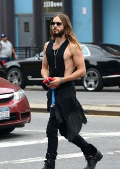 9/30/14-Jared Leto out in NYC