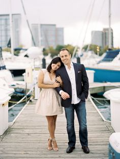 It never fails, when an engagement on the waterfront lands in my lap, my heart is sent into flip flops. And when it takes place on a dock, complete with wine and cheese, some seriously gorgeous bling and two stylish sweeties like this one from Kristin La Voie Photography? You can bet I'll be swooning over it for some […]