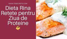 Dieta Rina Retete pentru ziua de proteine: in Dieta Rina veți mânca zilnic câte un singur grup de alimente din cele 4 în care au fost ele împărțite: alimente care conținproteine, alimente cuamidon, alimente cucarbohidrațiși alimente cuvitamine.