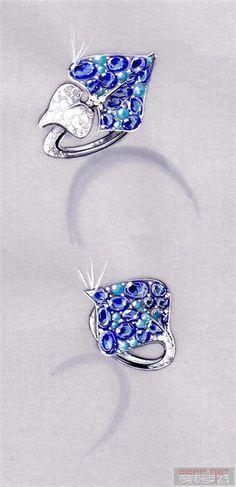 Jewelry Illustrations on Behance | Art | Pinterest | Jewelry ...