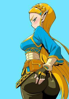 My harem 3 Legend Of Zelda Memes, Legend Of Zelda Breath, Thicc Anime, Kawaii Anime, Anime Zone, Character Art, Character Design, Princesa Zelda, Comic Art Girls