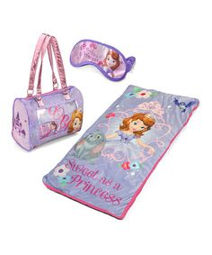 Look what I found on #zulily! Sofia the First 'Sweet as a Princess' Slumber Party Set by Sofia the First #zulilyfinds