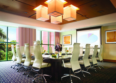 #Meetings don't have to be boring. Enjoy the beauty of paradise event from the boardroom when you're at Atlantis.