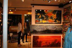 Village Art Gallery - Laguna Beach Art Walk artist Nichole McDaniel