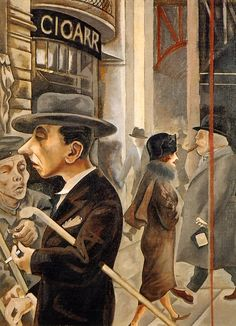 George Grosz.  Date of birth: July 26, 1893, Berlin, Germany Date of death: July 6, 1959, Berlin, Germany, Expressionism and Dadaism