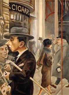 George Grosz.  Date of birth: July 26, 1893, Berlin, Germany Date of death: July 6, 1959, Berlin, Germany, Expressionism and Dadaism
