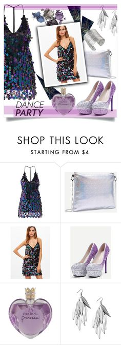 """""""Dance Party!!"""" by mahafromkailash ❤ liked on Polyvore featuring WithChic, Vera Wang, danceparty and polyvoreditorial"""